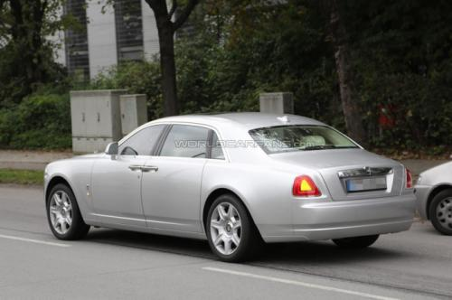 Rolls Royce Ghost Facelift Back View