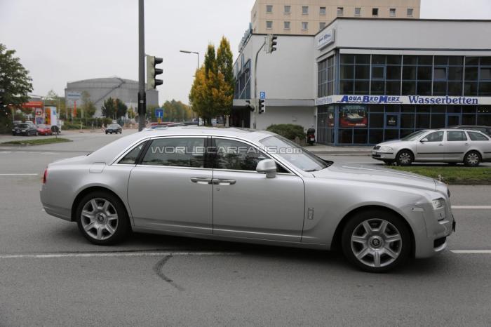 Rolls Royce Ghost Facelift