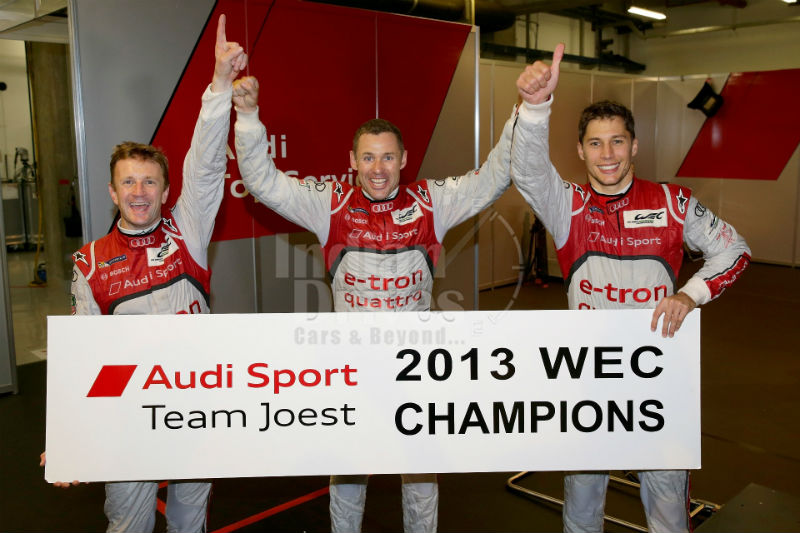 Sixth WEC victory of the season for Audi and Drivers' World Championship
