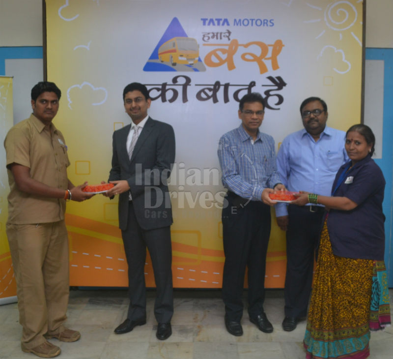 Tata Motors 'School Bus Safety awareness program' conducted at Podar International School
