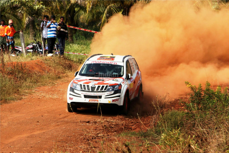 Team Mahindra Adventure at Indian National Rally Championship 2013