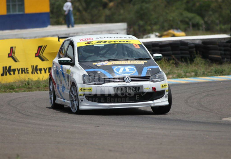 Volkswagen Polo R Cup racing car