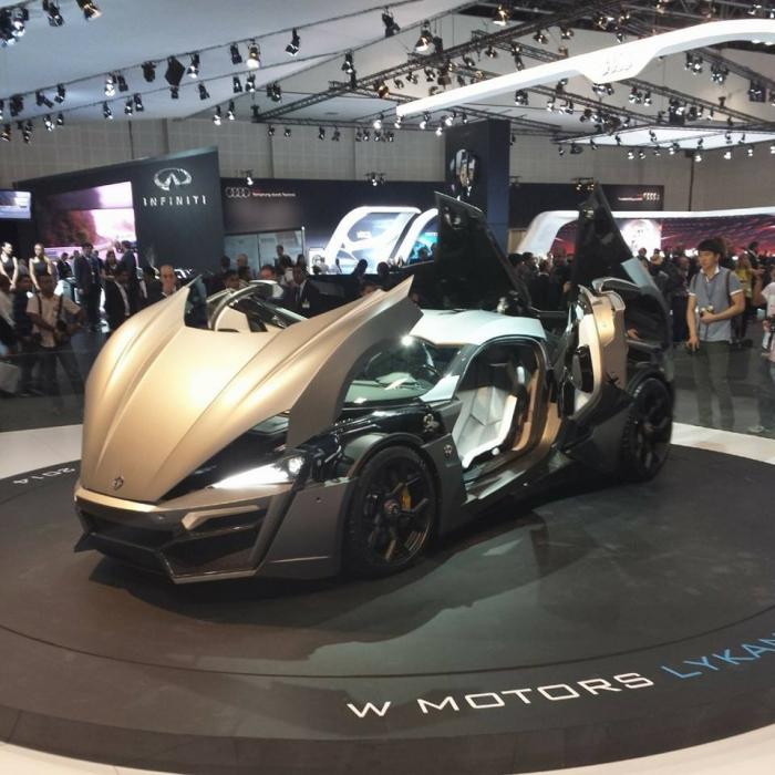 W Motors Lykan Hypersports