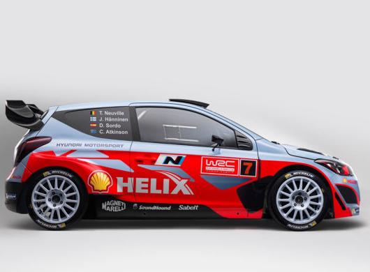 New Hyundai i20 WRC