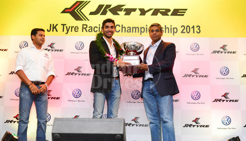 2013 Volkswagen Polo R Cup Champion Yatin Magu wins