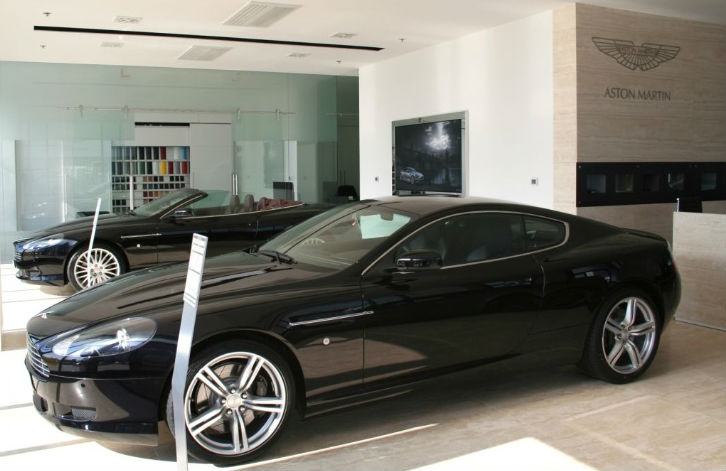 Aston Martin Opening First Dealership in Mexico 2014