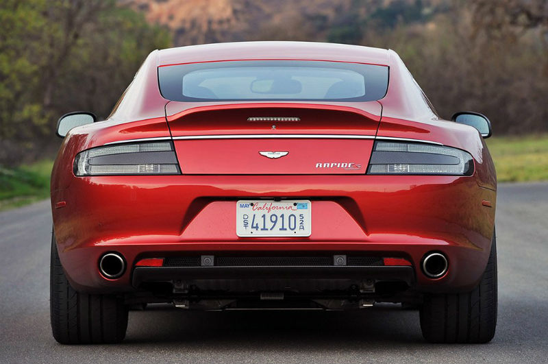 Aston Martin Rapide S Back View