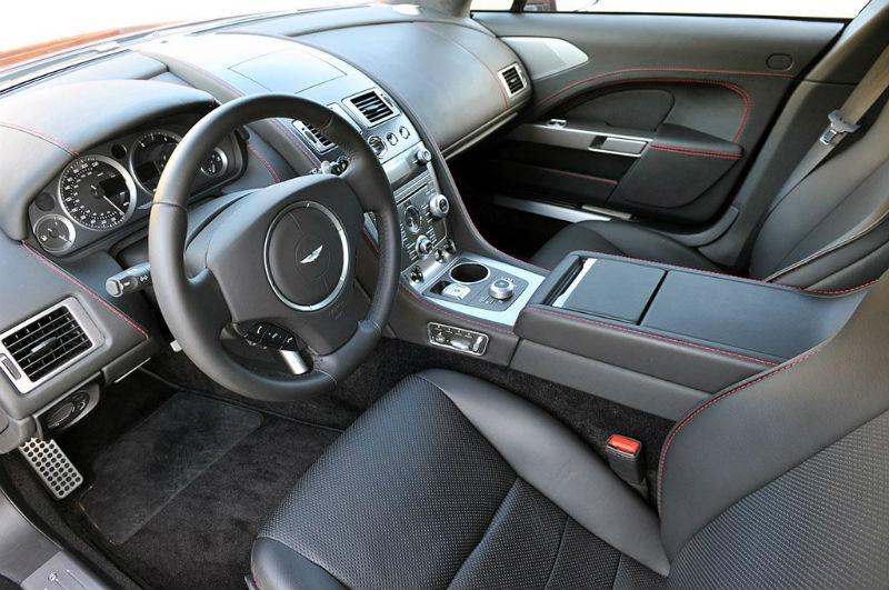 Aston Martin Rapide S interiors