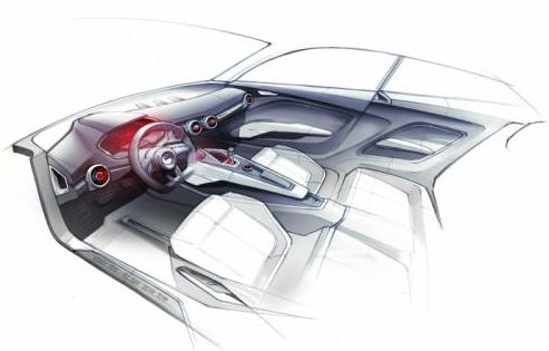 Audi Q1 crossover concept teased for 2014 Detroit Motor Show
