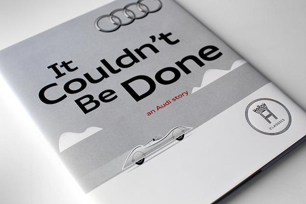 Audi Storybook Unveiled