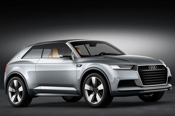Audi registers the names for future models