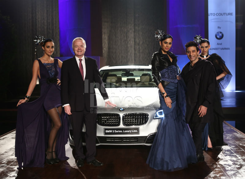Auto Couture by BMW and Suneet Varma an Inspiration for Creation