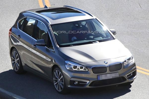 BMW 2 Series MPV Spied