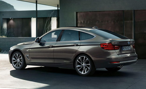 BMW 3 Series GT Back View