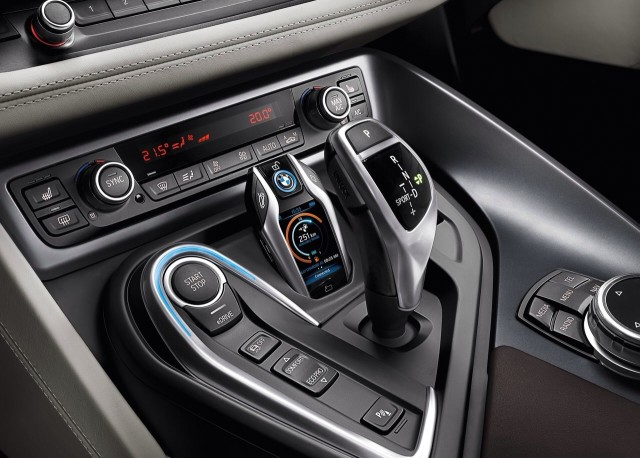 BMW i8 Key interiors