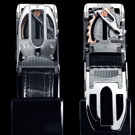 Bugatti Belt Buckle Costs