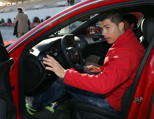 Christiano Ronaldo Gets a RS6