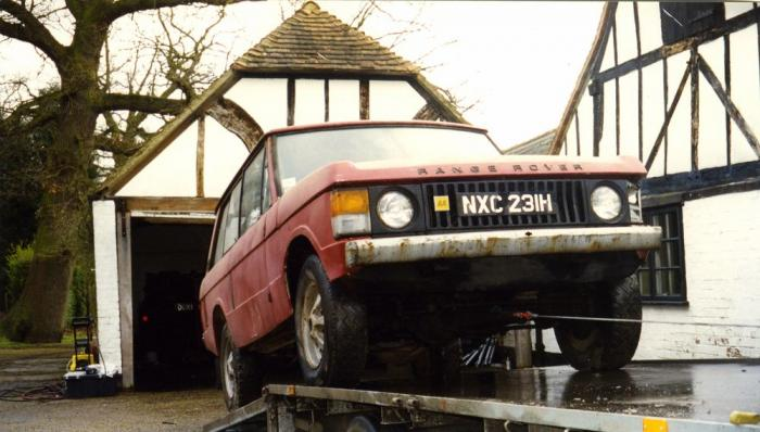 First Ever Range Rover (of 1970 make) to be Restored and Sold