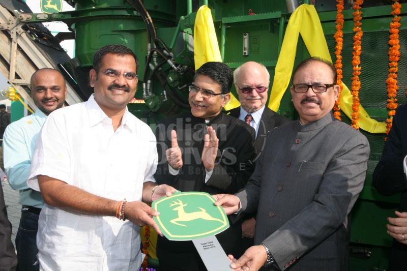 John Deere launches sugarcane harvester