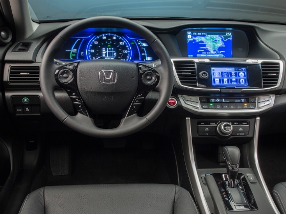 Honda Accord Hybrid Interiors