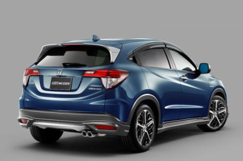 Honda Vezel by Mugen revealed Back View
