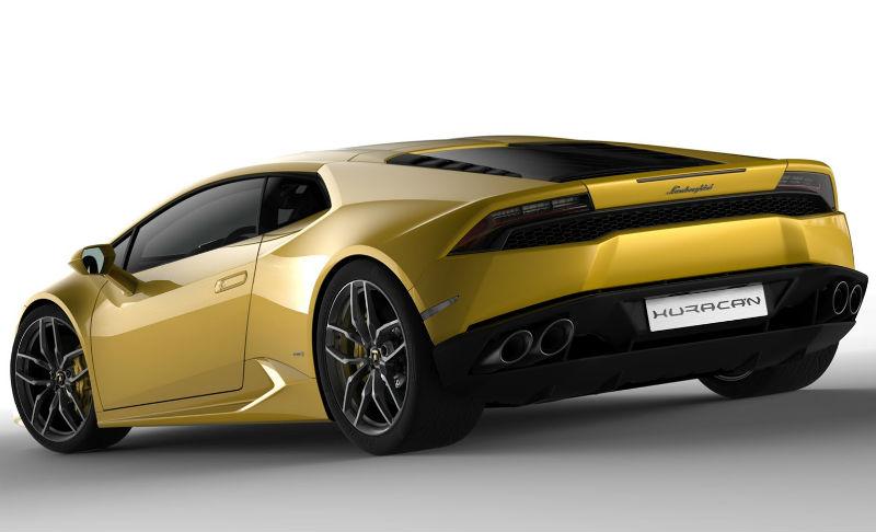 Lamborghini Gallardo Leaked in Official Images named as Huracan