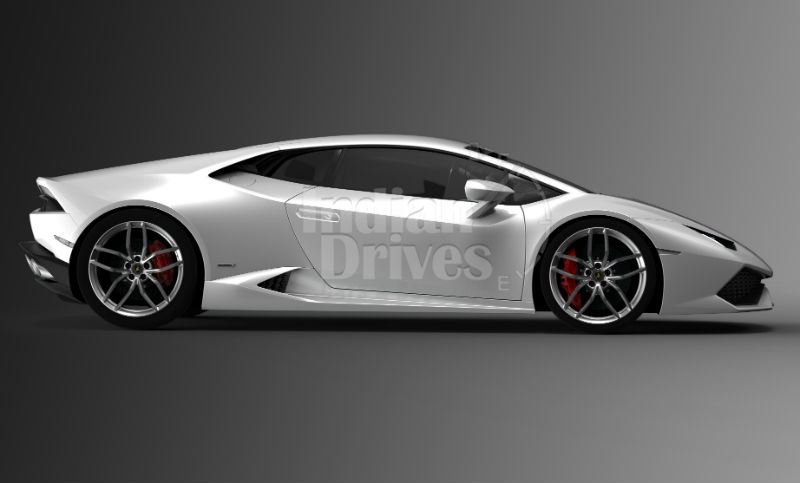 Lamborghini Huracán LP 610-4 Side View