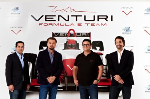Leonardo DiCaprio & Venturi Announces Plans for a Joint Formula E Team