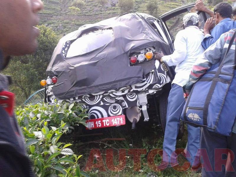 Mahindra Compact Suv S101 Crashed