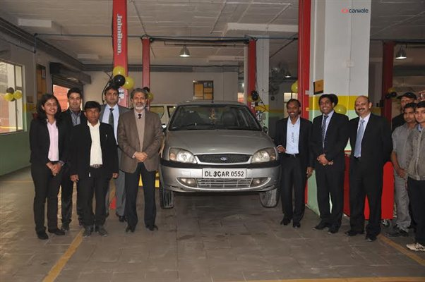 Mahindra First Choice Services opens four workshops in the NCR region