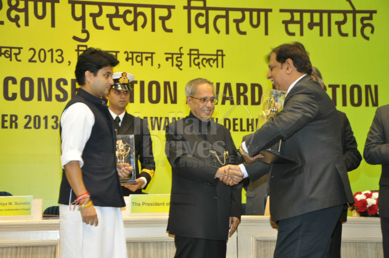 Mahindra receives National Energy Conservation Award