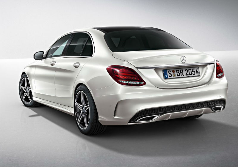 Mercedes Benz C-Class AMG Back View