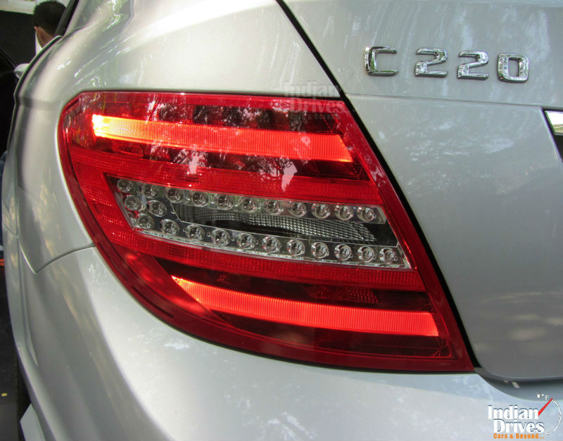Mercedes Benz C-Class Back View