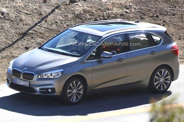 New BMW 2 Series MPV Spied