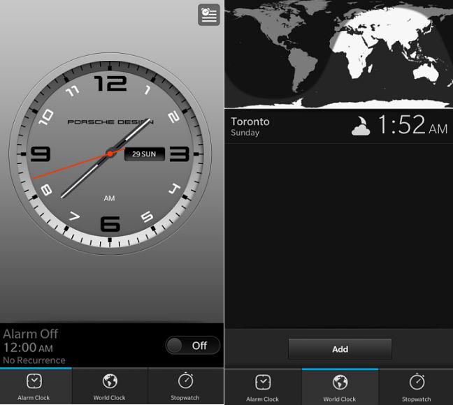 Porsche Clock App by Gaspertrix
