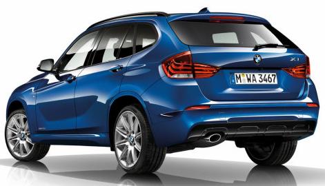 New BMW X1 Revealed