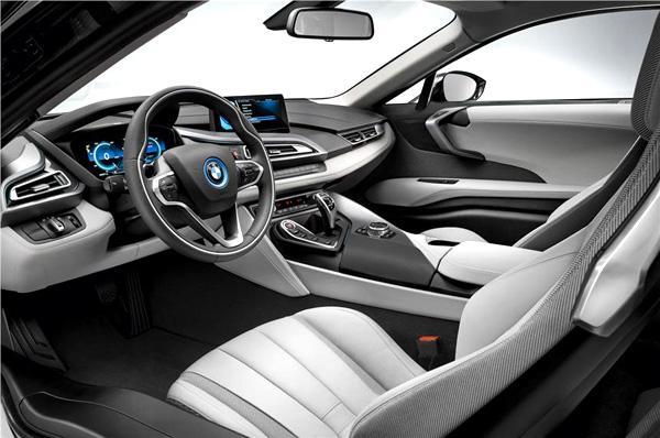 BMW Hybrid i8 Interiors