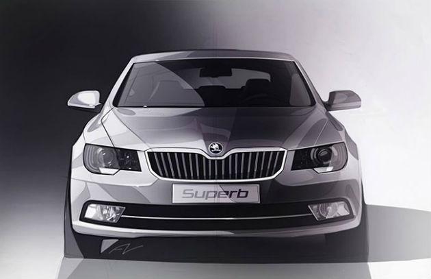 2014 Skoda Superb Facelift