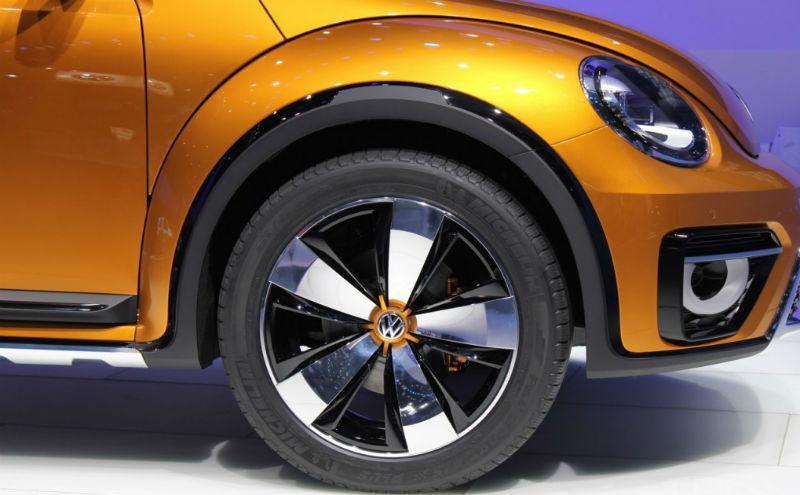 2014 VW Beetle Dune Concept Wheel