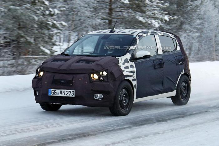 2015 Chevrolet Beat aka Spark Spied Testing