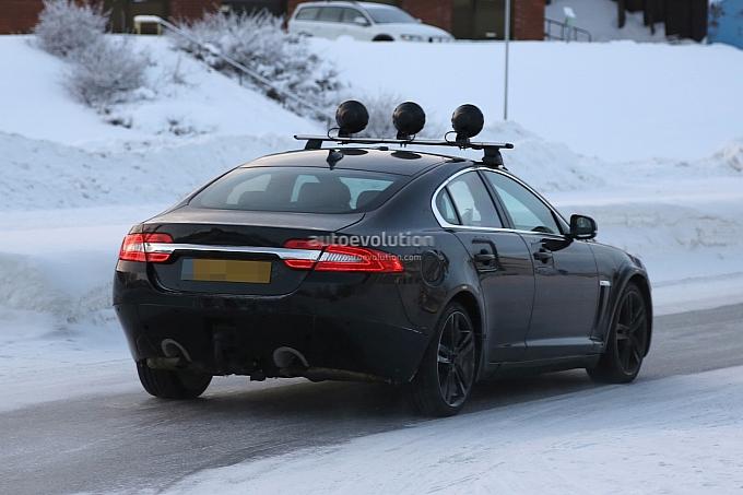 2015 Jaguar XS spied Back View