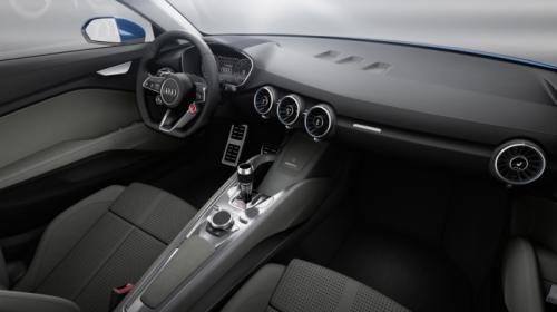 Audi Crossover Coupe Concept Interiors