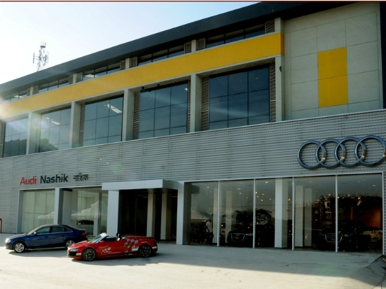 Audi Opens a Showroom in Nashik Sixth in Maharashtra