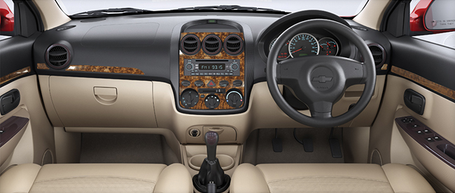 Chevrolet Enjoy Limited Edition Interiors