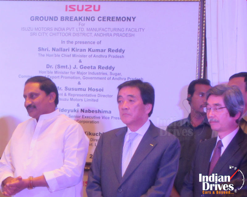 Isuzu to Start its Own Manufacturing in India
