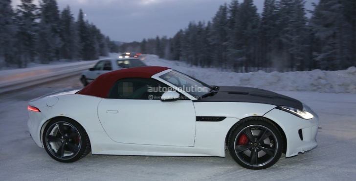 Jaguar F-Type Spy-Shots