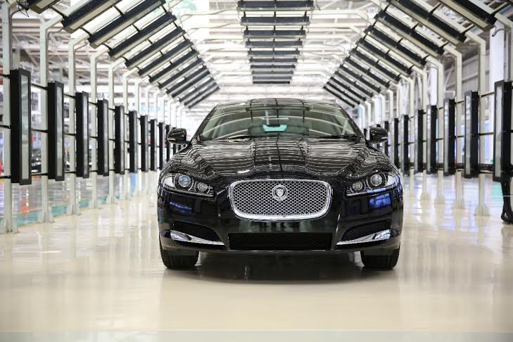 Jaguar XF 2.0L Petrol Launched