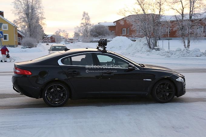 Jaguar XS spied