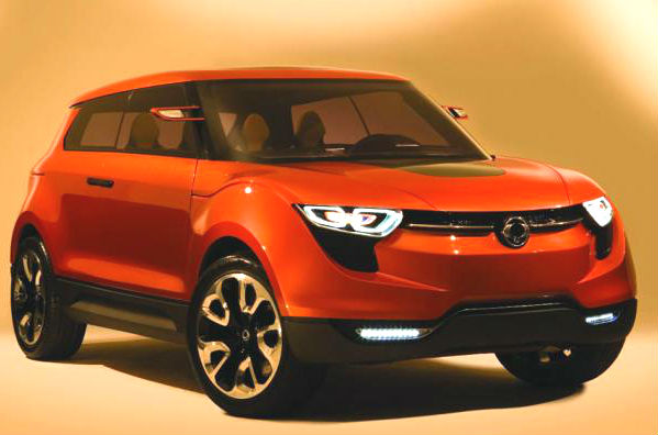 Mahindra-Ssangyong Compact SUV and MPV in Development