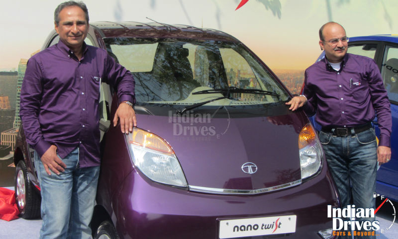 Tata Nano Twist Launch
